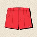 Hammies Shorts USA Logo