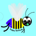 Happy BeeHinds Logo