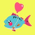 Happy Piranha Logo