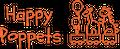 Happy Poppets HK Logo