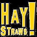 HAY! Straws Logo