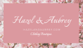 Hazel And Aubrey Logo