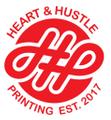 Heart and Hustle Printing Logo
