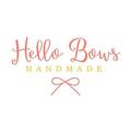 Hello Bows Handmade Logo