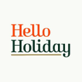 Hello Holiday Logo