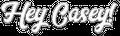 www.heycasey.co.za Logo