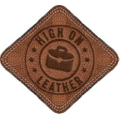 High On Leather Logo