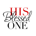 His Blessed One Logo