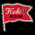 Hole 9 Design Logo