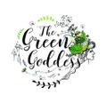 The Green Goddess Logo