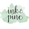 Ink & Pine Logo