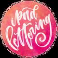 Ipad Lettering Logo
