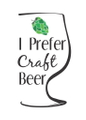 I Prefer Craft Beer logo