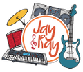 "Jay and Ray ""Jams for Fams"" Logo"