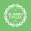 J E James Cycles Logo