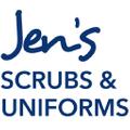 Jen's Scrubs Uniforms Logo