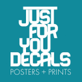 Wall Decals, Removable Wallpaper, Wall Murals - Just For You Decals Logo
