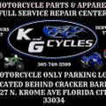 K And G Cycles Logo