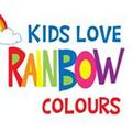 Kids Love Rainbow Colours Logo