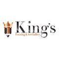 www.kingsframingandartgallery.com Logo