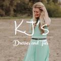 KJ's Dresses and Ties USA Logo