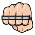 Knockout Knucks logo