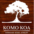 Koa Wood Rings Logo