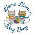 Llama Llama Ding Dong USA Logo