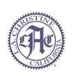 L.A. Christine Logo