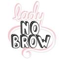 Lady No Brow Logo