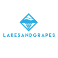 Lakes and Grapes Logo