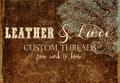 Leather & Lace Custom Threads USA Logo