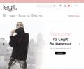 Legit Activewear USA Logo