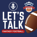 Let's Talk Fantasy Football Logo