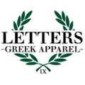 Letters Greek Apparel logo