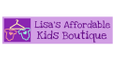 Lisa's Affordable Kids Boutique logo
