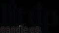 Lit Up Candle Co. Logo