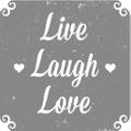 Live Laugh Love Logo