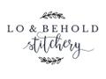 Lo & Behold Stitchery USA Logo