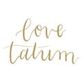 Love Tatum Logo