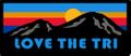 Love The Tri Logo