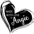 Made with Love by Angie Logo