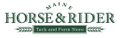 Maine Horse And Rider Logo
