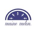 maine melon. USA Logo