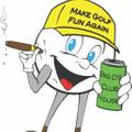 MAKE GOLF FUN AGAIN Logo
