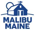 Malibu Maine USA Logo