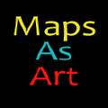 Maps As Art logo