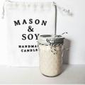 Mason & Soy Candles Logo