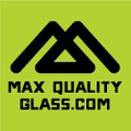 Max Quality Glass Logo