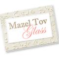 Mazel Tov Glass Logo